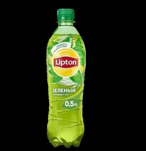 Зелёный чай Липтон 0,5 л.