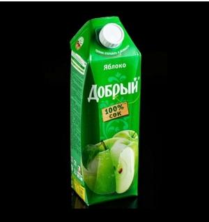 Яблоко Добрый 1 л.