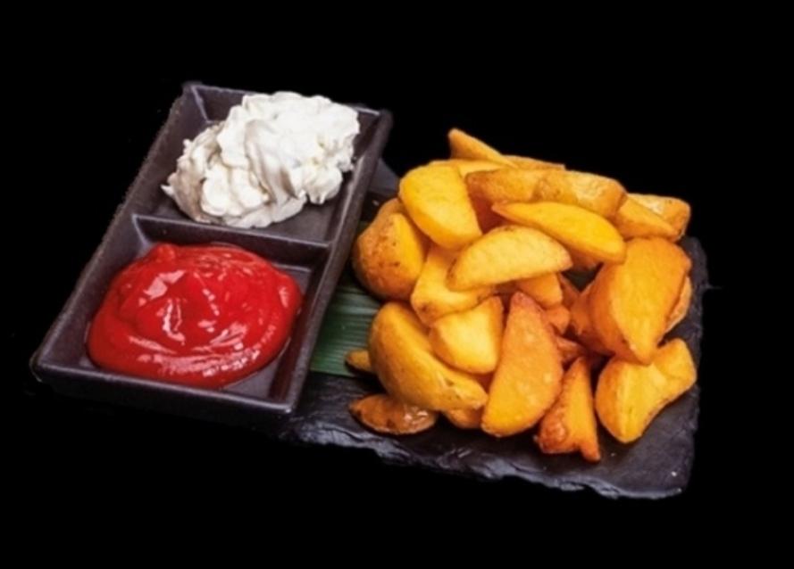Картофель по деревенски - доставка вкусной еды