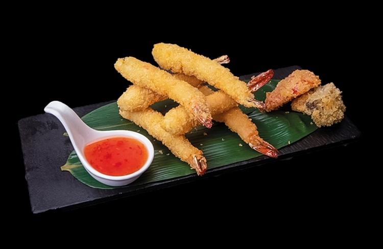 Тигровые креветки темпура - доставка вкусной еды